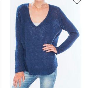 Wooden Ships Blue Leonard Indocrine Sweater